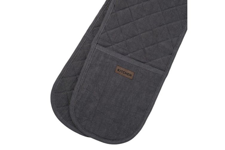 Ogilvies Designs Ramie Eco Double Ended Mitt Charcoal