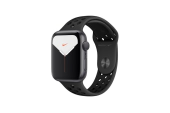 Apple Watch Nike+ Series 5 (Space Gray Aluminum, 44mm, Anthracite/Black Nike Sport Band, Cellular)