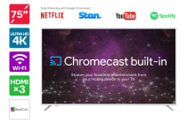 "75"" Smart Cast™ 4K LED TV with Google Chromecast (Smart TV)"