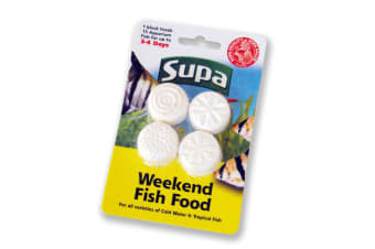 Supa Fish Food Weekend Blocks (4 Pack) (May Vary) (4 Pack)