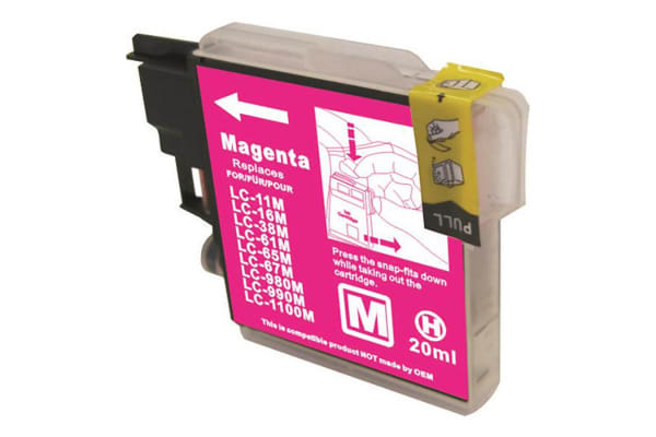 LC38 LC67 Magenta Compatible Inkjet Cartridge