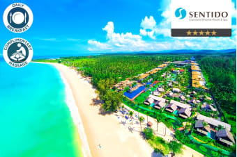 THAILAND: 5 or 7 Night Luxury Stay at Sentido Graceland, Khao Lak For Two