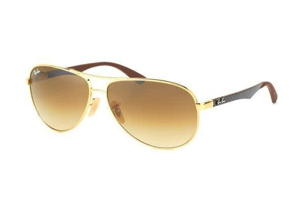 Ray-Ban RB8313 - Arista Crystal (Brown Gradient lens) / 61--13--140 Unisex Sunglasses
