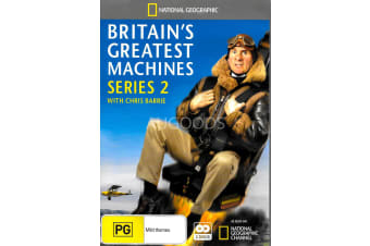 BRITAIN'S GREATEST MACHIENCES SERIES 2 - Series Region All DVD NEW