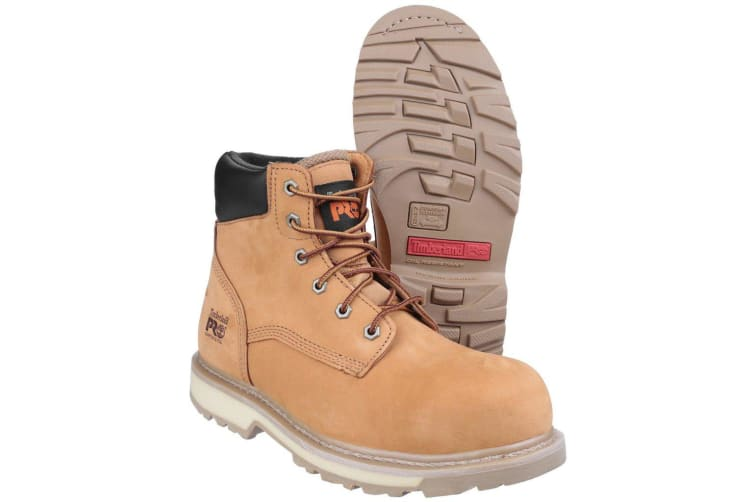 Timberland Pro Adults Unisex Water Resistant Lace Up Safety Boots (Wheat) (6 UK)