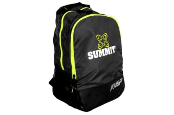 Summit ADV Backpack 42cm for School/Sports Gears Rugby/Football/Soccer/Black