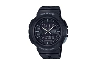 Casio Baby-G Analog Digital Watch with Resin Band - Black (BGA240BC-1A)