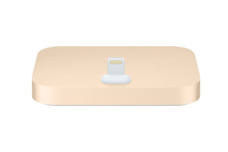 iPhone Lightning Dock (Gold)