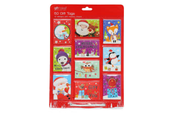 Christmas Shop Foiled Gift Tags (50 Pack) (Pack of 2) (Novelty)