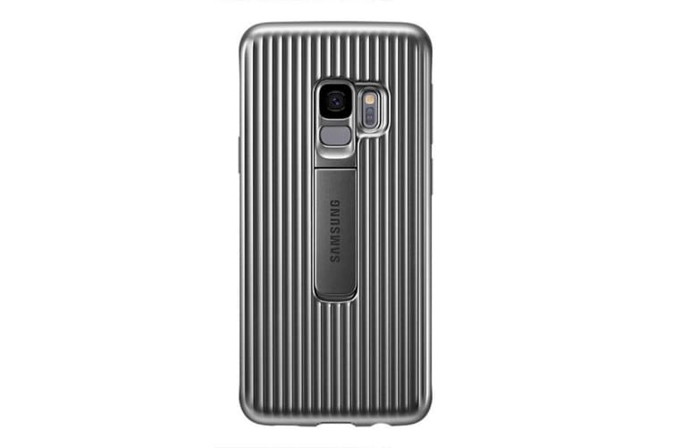 new concept 9a35c 7d8c9 Samsung Galaxy S9 Protective Standing Cover - Grey