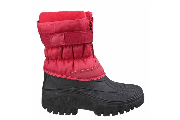 Cotswold Mens Chase Snow Boots (Red) (9 UK)