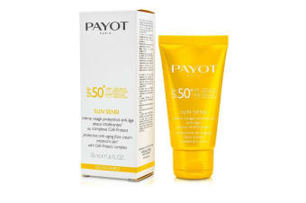 Payot Les Solaires Sun Sensi Protective Anti-Aging Face Cream SPF 50+ 50ml/1.6oz
