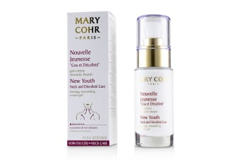 Mary Cohr New Youth Neck & Decollete Care Firming  Smoothing Cream Gel 30ml/0.88oz