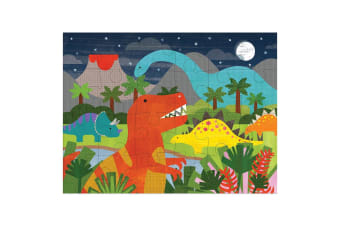 Dinosaur Kingdom Kids Spot-A-Creature Durable Floor Puzzle 46x61cm