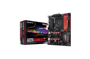 Gigabyte GA-AX370-Gaming K3 ATX For AMD Ryzen Socket AM4. AMD X370 Chipset