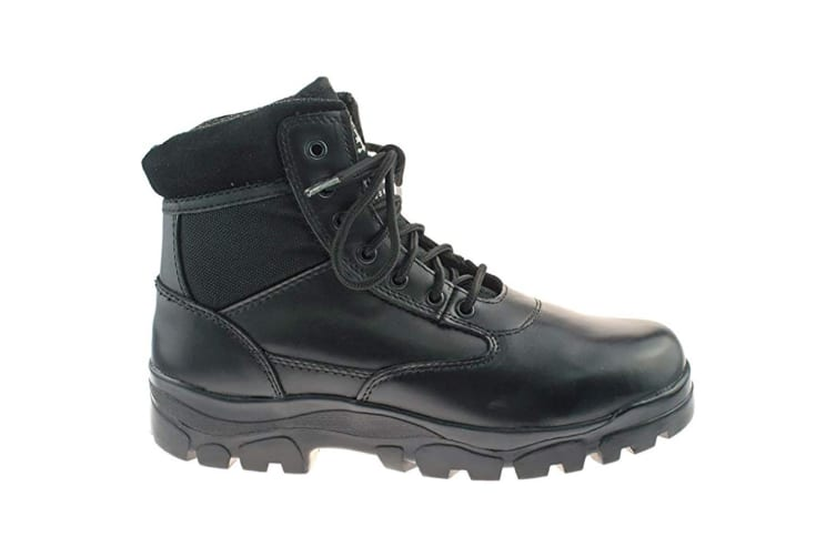 Grafters Mens Sherman Thinsulate Lined 7 Eye Combat Boots (Black) (6 UK)