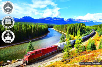 CANADA & ALASKA: 21 Day Ultimate Canada Tour and Alaska Cruise Including Flights for Two
