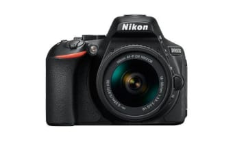 New Nikon D5600 24MP Kit AF-P (18-55 VR) Digital SLR Camera Black (FREE DELIVERY + 1 YEAR AU WARRANTY)