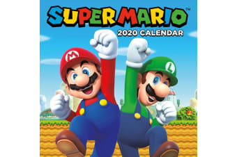 Super Mario 2020 Calendar (Multicoloured)