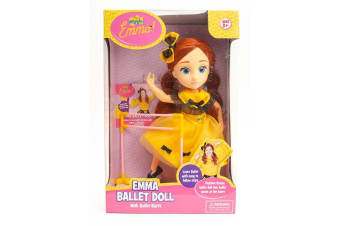 The Wiggles Emma Ballet Doll with Ballet Barre