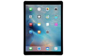 "As New Apple iPad PRO 12.9"" 1st Gen 128GB Wifi + Cellular Space Grey (Local Warranty, 100% Genuine)"