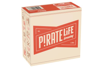 Pirate Life Throwback India Pale Ale 16 x 355mL
