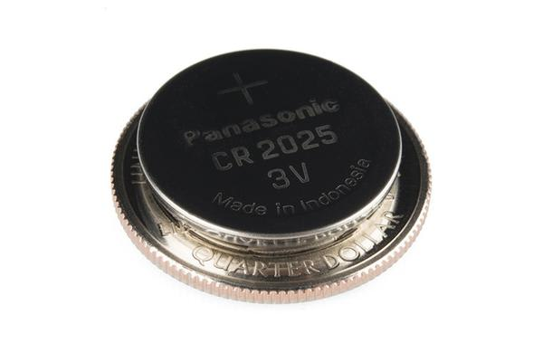 Coin Cell Battery - 20mm (CR2025)