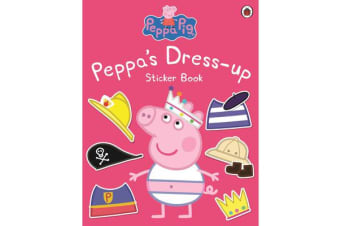 Peppa Pig - Peppa Dress-Up Sticker Book