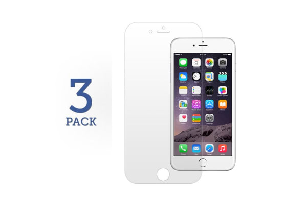 3 Pack Screen Protector for Apple iPhone 6 Plus/6s Plus