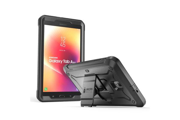 SUPCASE - Black Unicorn Beetle Pro Full Body Rugged  Cases for Samsung Galaxy Tab A 8.0 2017  Model