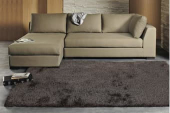 Twilight Shag Rug - Ash Brown