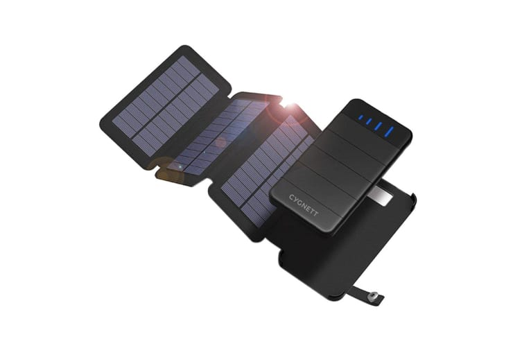 Cygnett ChargeUp Explorer 8k Power Bank with 3 Solar Panels (CY2805PBCHE)