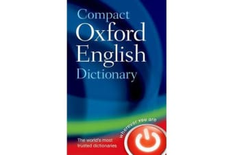 Compact Oxford English Dictionary of Current English - Third edition revised