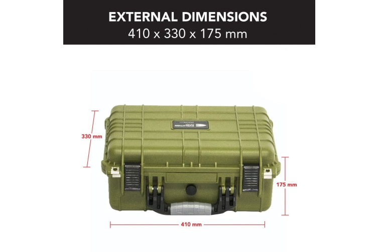 Hd Series Utility Camera Drone Hard Case - Olive Drab 3540