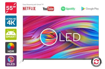 "Refurbished 55"" OLED Smart 4K HDR TV"