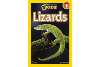 National Geographic Kids Readers - Lizards