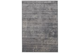 Nisa Transitional Rug Grey Charcoal Ivory 230X160cm