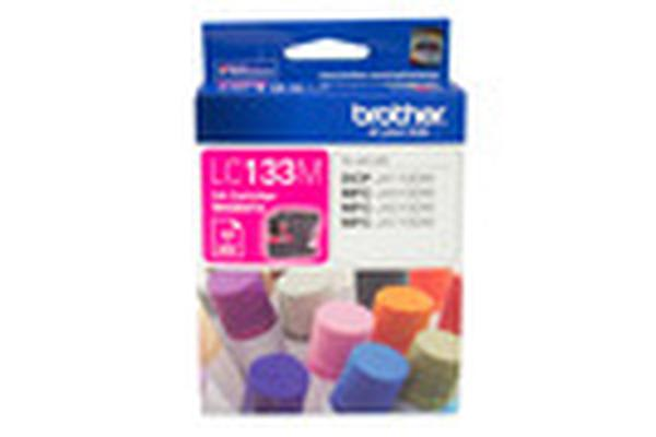 Brother LC-133MMagenta Ink 600pages,MFC-J4410DW,J4510D