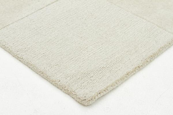 Wool Hand Tufted Rug - Box Oatmeal - 300x80cm