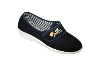Mirak Boost Touch And Close Canvas / Womens Shoes (Navy) (37 EUR)