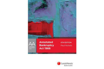LexisNexis Annotated Acts - Annotated Bankruptcy Act 1966