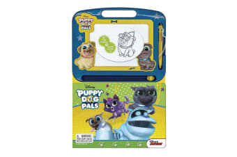 Puppy Dog Pals Learning Book with Magnetic Drawing Pad