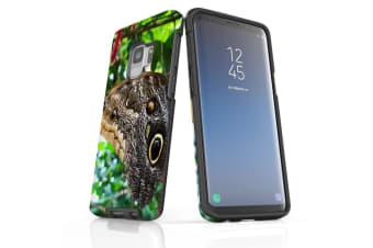 For Samsung Galaxy S9 Case Armour Cover  Butterflies Eyes