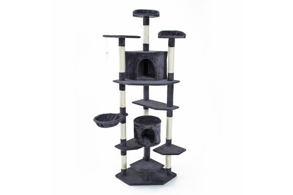 Cat Tree Scratcher PARALA 203 cm - GREY
