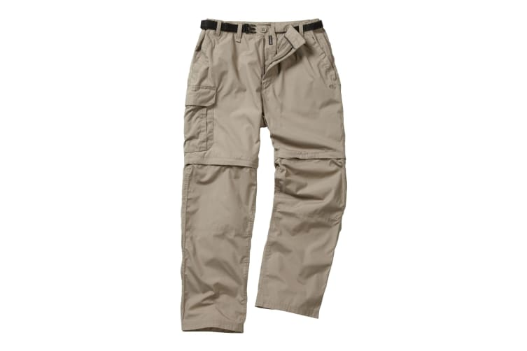 Craghoppers Outdoor Classic Mens Kiwi Convertible Trousers (Beach) (38S)