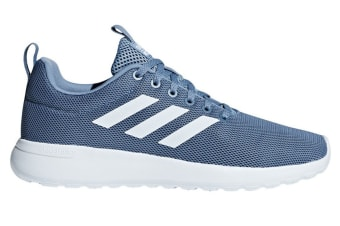 Adidas Neo Women's Lite Racer Shoe (Raw Grey/White, Size 5)