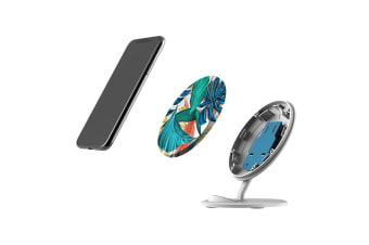 QI Wireless Charger For iPhone XR XS MAX Samsung Galaxy S10 S10+ S10e  Leaves