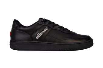 Ellesse Men's Vinitziana 2.0 Leather AM Shoe (Black/Black)