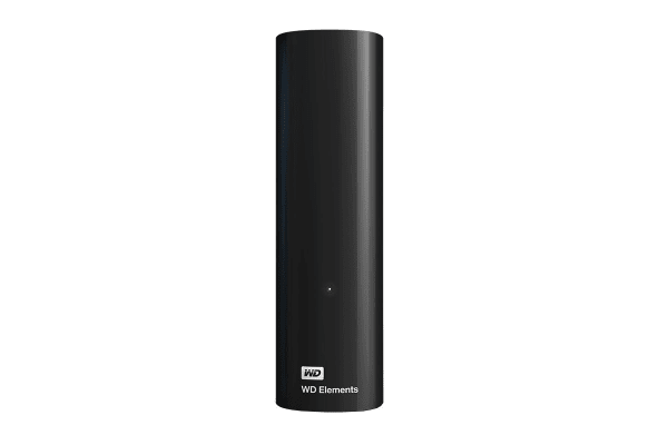 WD Elements 8TB USB 3.0 Desktop Storage (WDBBKG0080HBK-AESN)