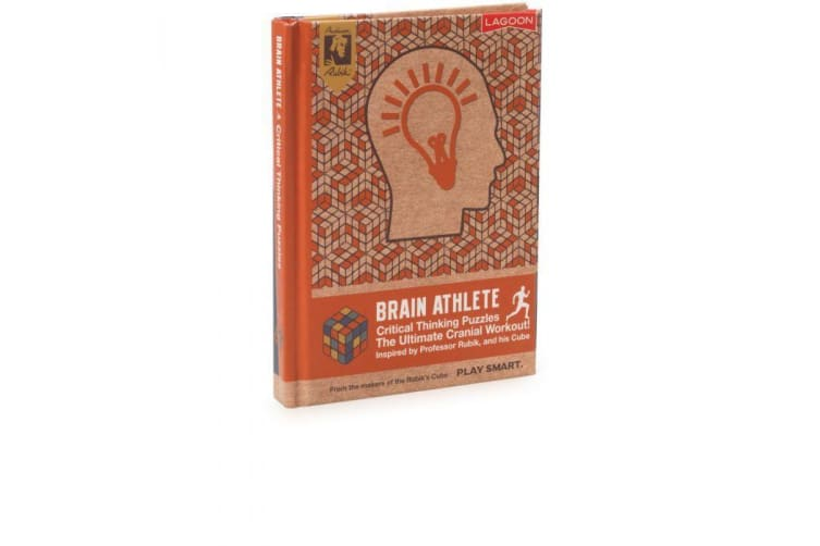Official Rubik`s Brain Athlete Puzzle Books - Critical Thinking Puzzles